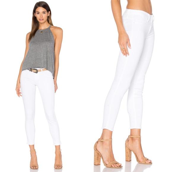 PAIGE Denim - Paige Verdugo Crop Jeans White